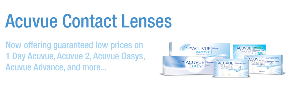 Acuvue family of contact lenses