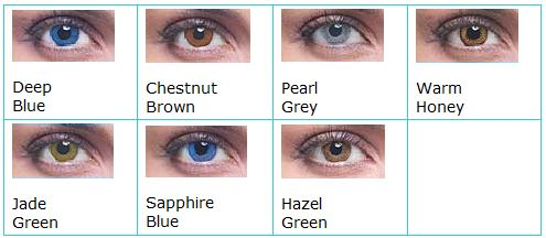Acuvue  Colours Opaques For Dark Eyes
