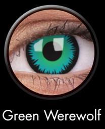 Buy Green Werewolf Crazy Lens (2 Vials) Contact Lenses ...  Buy Green Werew...